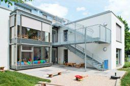 Außenbereich München Hadern Wichtel Akademie