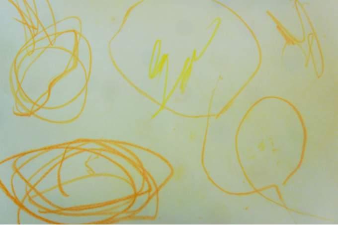 gelb - Kreise - Zeichnen - Wichtel Akademie München