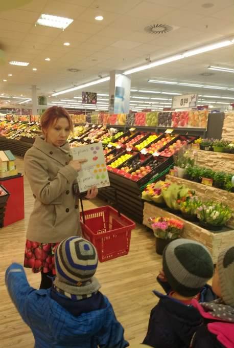 Bilingual - Supermarkt - Wichtel Akademie München