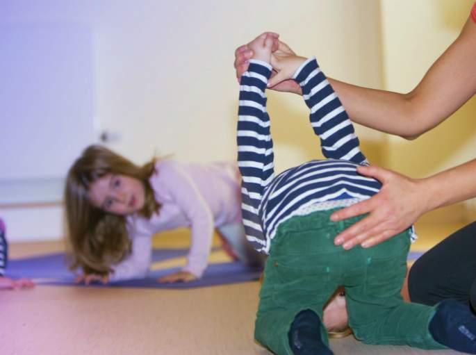 Yoga in der Kita - Wichtel Akademie München